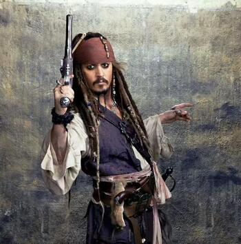 《(加勒比海盗同人)梦游加勒比海》 作者:未知 txt文件大小:310.35 KB